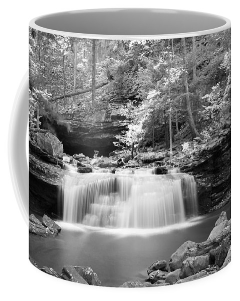 Waterfall Coffee Mug featuring the photograph Waterfall by David Troxel