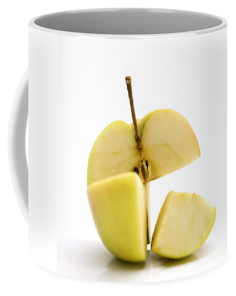 Yellow Apple Coffee Mug featuring the photograph Apple by Bernard Jaubert
