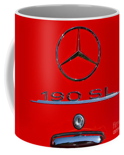 Classic Coffee Mug featuring the photograph 190 Sl by Dennis Hedberg