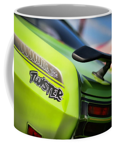 Plymouth Coffee Mug featuring the photograph 1971 Plymouth Duster Twister by Gordon Dean II