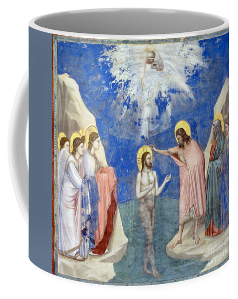 1304 Coffee Mug featuring the photograph Baptism Of Christ by Granger