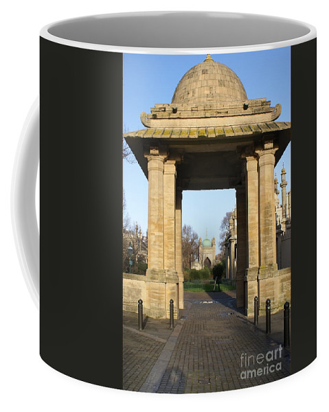 Brighton Coffee Mug featuring the digital art Brighton Pavillion by Carol Ailles