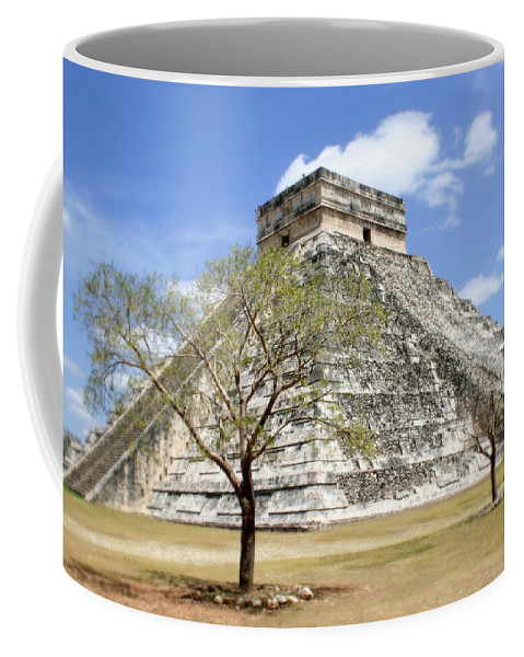 Chichen Itza Coffee Mug featuring the photograph Chichen Itza by Chris Brannen