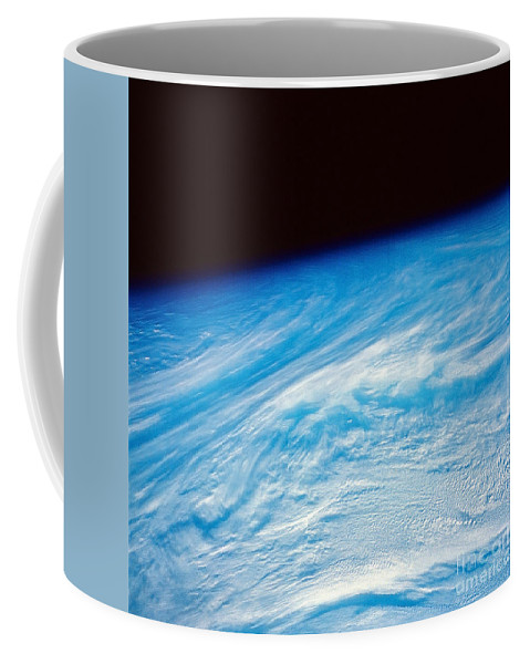 Color Image Coffee Mug featuring the photograph Earth From Space by Stocktrek Images
