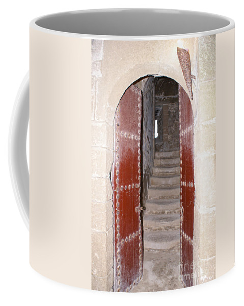 Africa Coffee Mug featuring the digital art Essaouira In Morocco by Carol Ailles