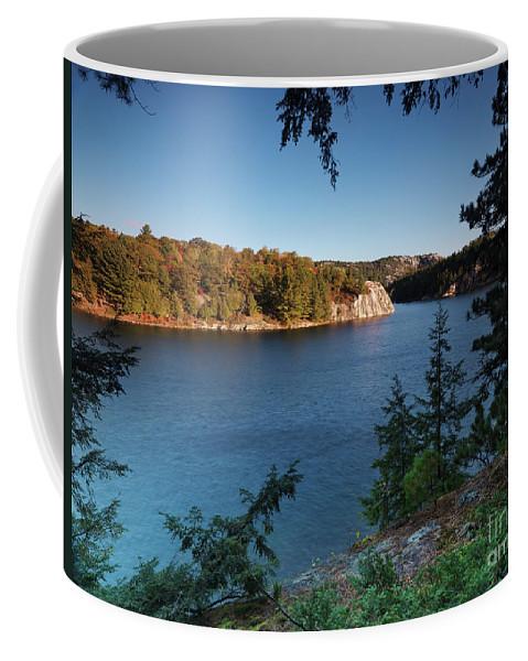 Lake Coffee Mug featuring the photograph Killarney Provincial Park by Oleksiy Maksymenko