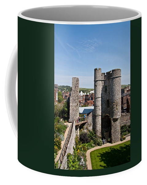 Lewes Castle Coffee Mug featuring the photograph Lewes Castle by Dawn OConnor
