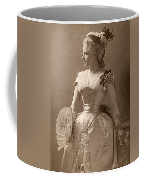 19th Century Coffee Mug featuring the photograph Lillie Langtry (1852-1929) by Granger
