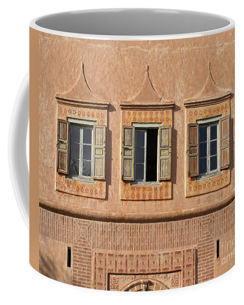 Africa Coffee Mug featuring the digital art Marrakech In Morocco by Carol Ailles