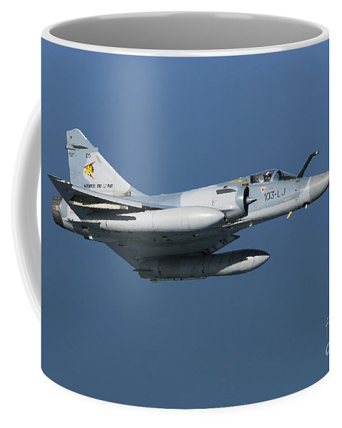 Transportation Coffee Mug featuring the photograph Mirage 2000c Of The French Air Force by Gert Kromhout