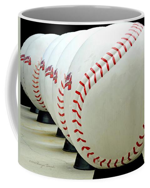 Baseball Coffee Mug featuring the photograph Play Ball....... by Tanya Tanski