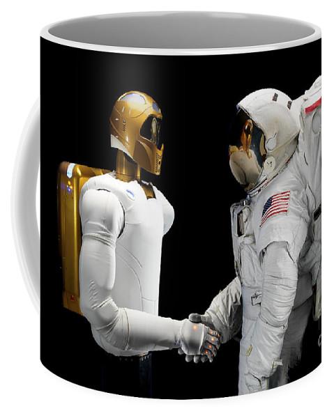 Dexterous Coffee Mug featuring the photograph Robonaut 2, A Dexterous, Humanoid by Stocktrek Images