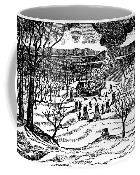 1857 Coffee Mug featuring the photograph Spirit Lake Massacre, 1857 by Granger