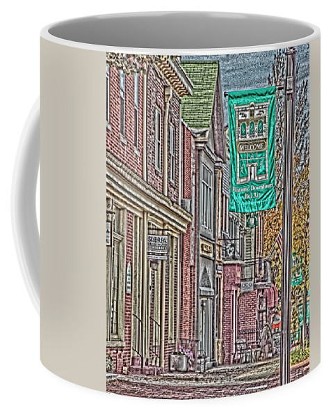 Landscape Coffee Mug featuring the photograph Streets Of Bel Air by Tom Leach