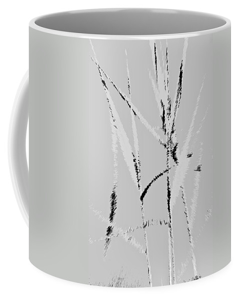 Monet Coffee Mug featuring the digital art Water Reed Digital Art by David Pyatt