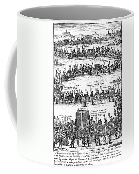 1715 Coffee Mug featuring the photograph Louis Xiv (1638-1715) by Granger