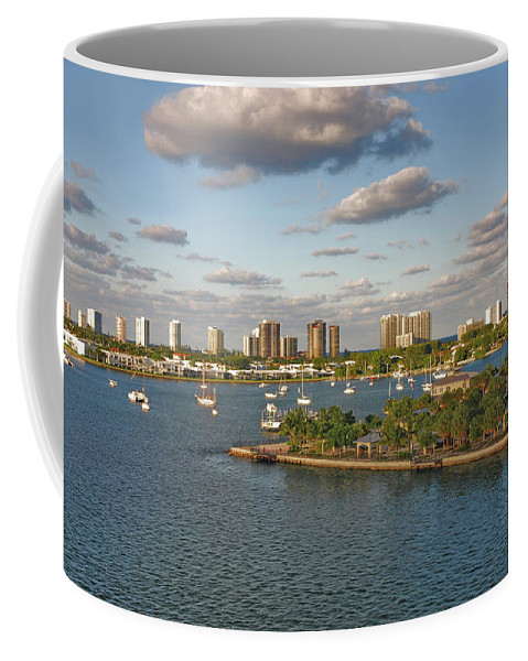 Singer Island Skyline Coffee Mug featuring the photograph 27- Singer Island Skyline by Joseph Keane