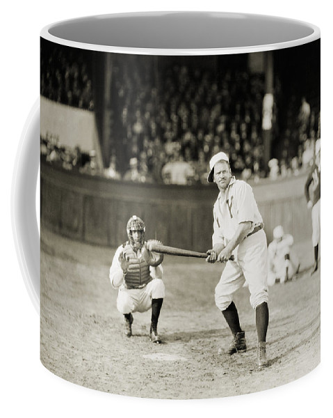 -sports- Coffee Mug featuring the photograph Silent Film Still: Sports by Granger