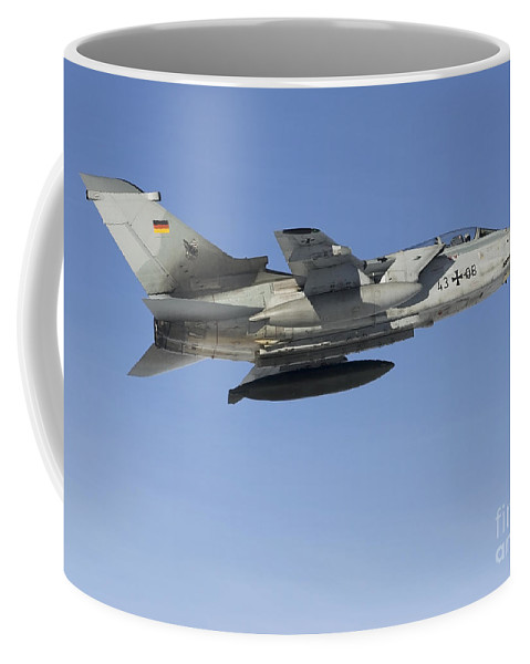 Germany Coffee Mug featuring the photograph A Luftwaffe Tornado Ids Over Northern by Gert Kromhout