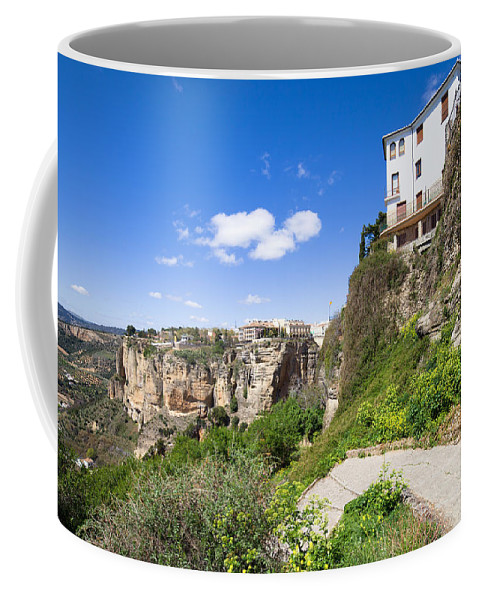 Ronda Coffee Mug featuring the photograph Andalusia Landscape by Artur Bogacki