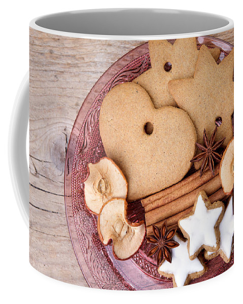 Ginger Coffee Mug featuring the photograph Christmas Gingerbread by Nailia Schwarz