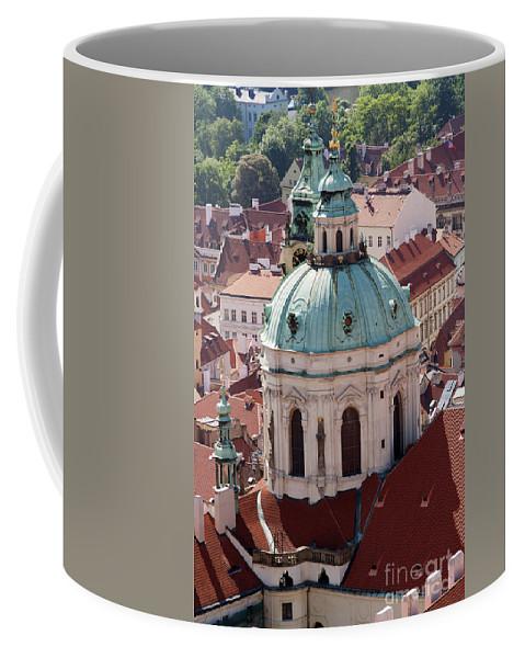 Prague Coffee Mug featuring the photograph Church Of St Nikolas by Michal Boubin