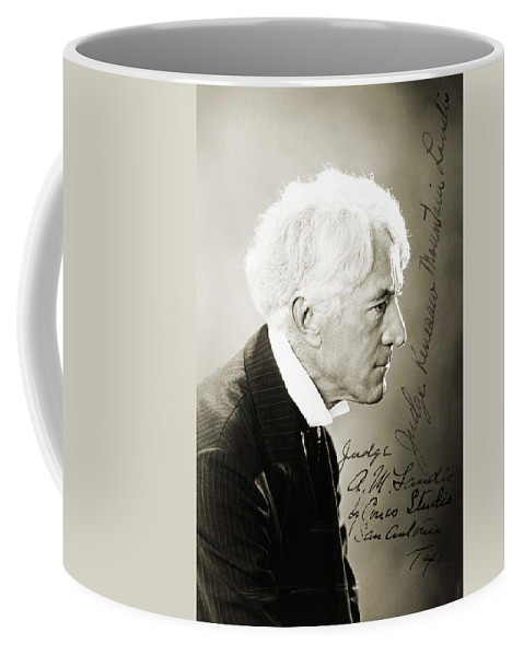 19th Century Coffee Mug featuring the photograph Kenesaw Mountain Landis by Granger