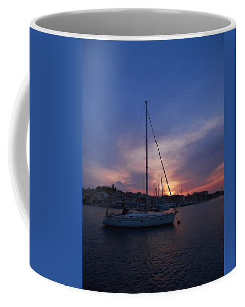 2012 Coffee Mug featuring the photograph Primosten by Jouko Lehto