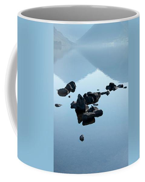 Bay Coffee Mug featuring the photograph Rocks by Svetlana Sewell