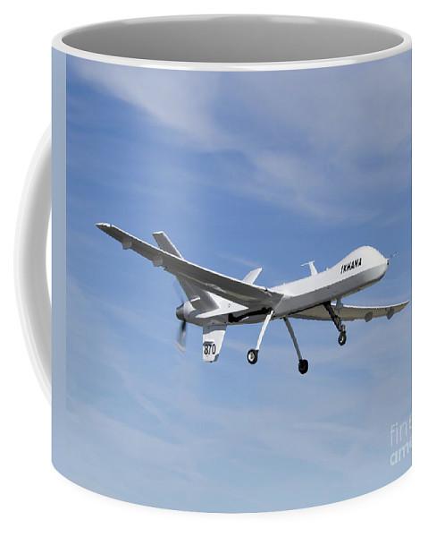 Aeronautics Coffee Mug featuring the photograph The Ikhana Unmanned Aircraft by Stocktrek Images