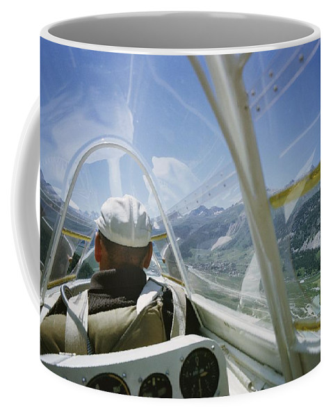 Aircraft Coffee Mug featuring the photograph Untitled by Walter Meayers Edwards
