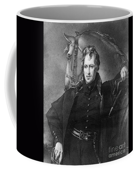 1820 Coffee Mug featuring the photograph Andrew Jackson (1767-1845) by Granger