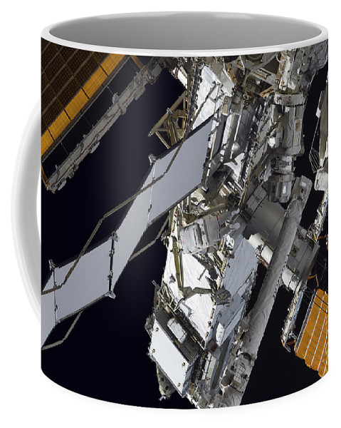 Technology Coffee Mug featuring the photograph Astronaut Participates by Stocktrek Images