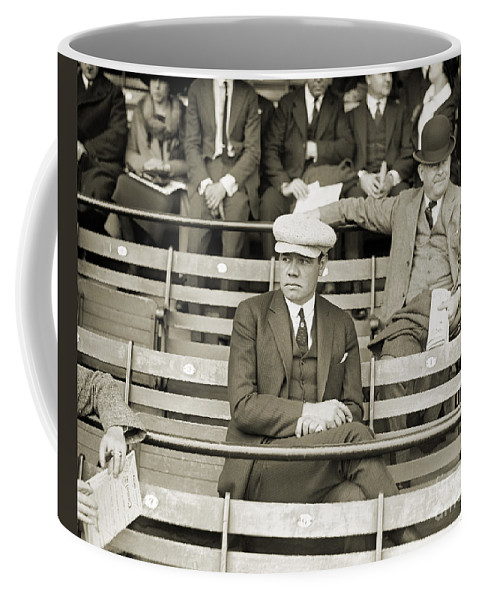 1922 Coffee Mug featuring the photograph George H. Ruth (1895-1948) by Granger