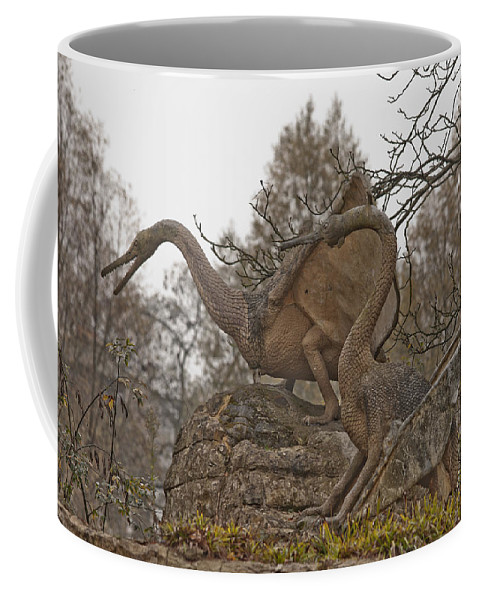 Dinosaur Coffee Mug featuring the photograph Dinosaur by Dawn OConnor