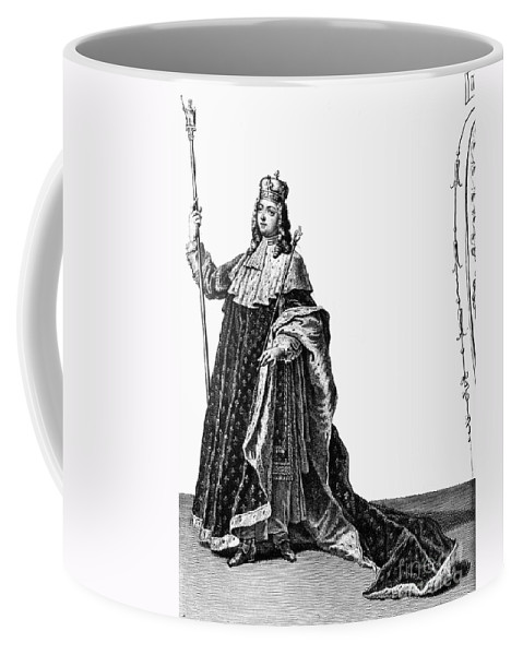 18th Century Coffee Mug featuring the photograph Louis Xv (1710-1774) by Granger