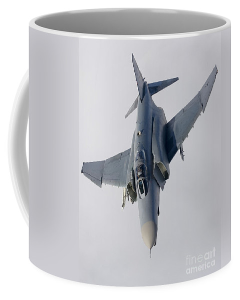 Germany Coffee Mug featuring the photograph Luftwaffe F-4f Phantom II by Gert Kromhout