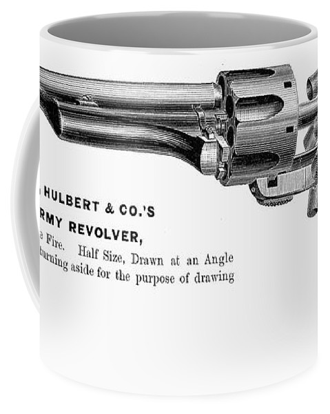 1880s Coffee Mug featuring the photograph Revolver, 19th Century by Granger