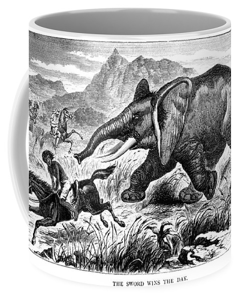 1868 Coffee Mug featuring the photograph Samuel White Baker by Granger