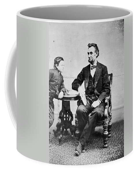 1865 Coffee Mug featuring the photograph Abraham Lincoln by Granger