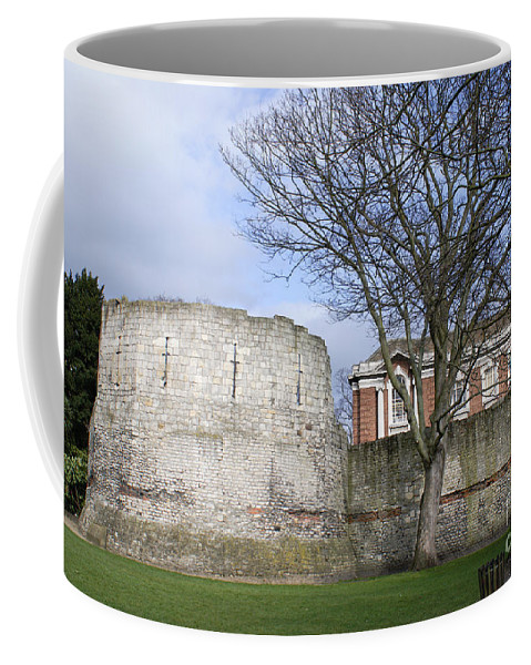 Architecture Coffee Mug featuring the digital art Scenes From The City Of York by Carol Ailles