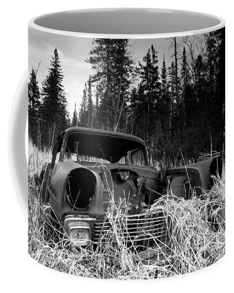 1956 Chevy Coffee Mug featuring the photograph 1956 Chevy by Cale Best
