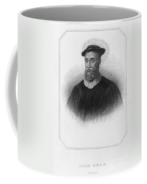 16th Century Coffee Mug featuring the photograph John Knox (1513-1572) by Granger