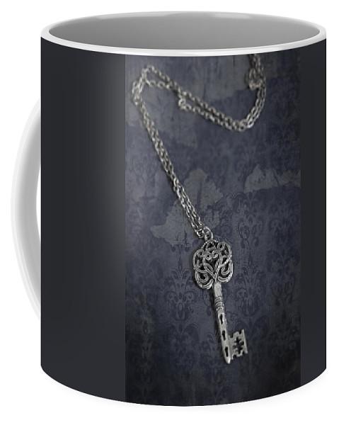 Key Coffee Mug featuring the photograph key by Joana Kruse