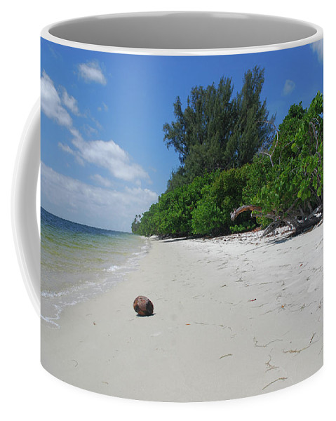 Coffee Mug featuring the photograph 5- Marooned by Joseph Keane