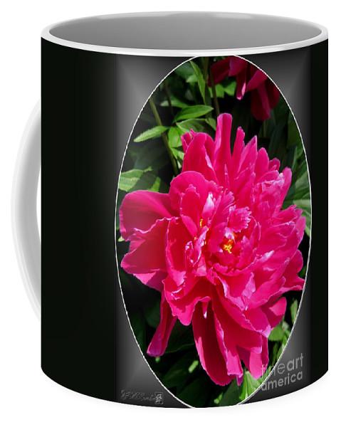 Peony Coffee Mug featuring the photograph Peony Named Karl Rosenfield by J McCombie