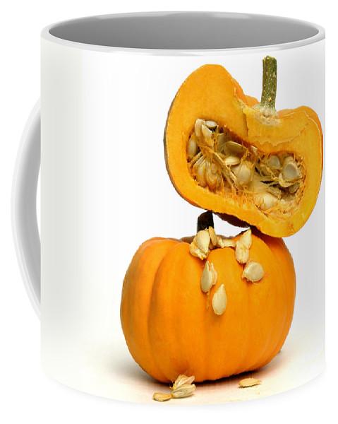 Alipumpkins Coffee Mug featuring the photograph Pumpkins by Bernard Jaubert