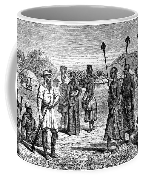 1864 Coffee Mug featuring the photograph Samuel White Baker by Granger