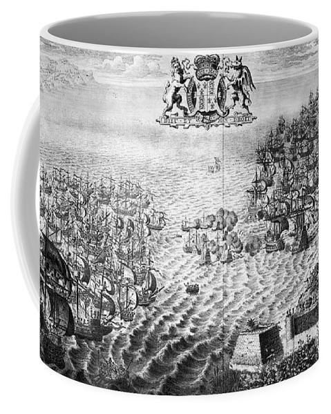 1588 Coffee Mug featuring the photograph Spanish Armada, 1588 by Granger