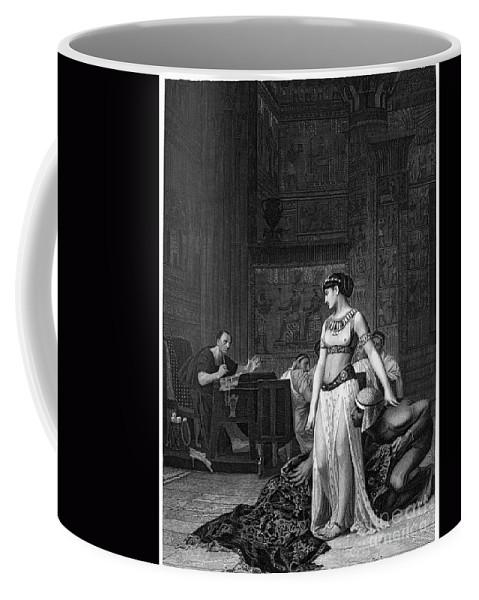 48 B.c Coffee Mug featuring the photograph Cleopatra Vii (69-30 B.c.) by Granger